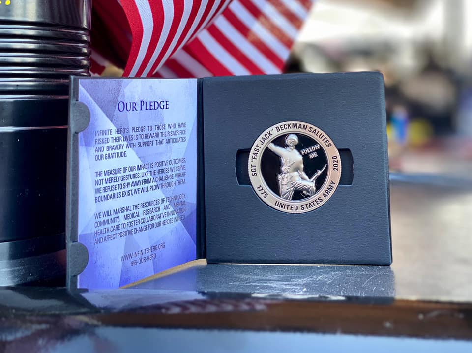 About the 2020 Infinite Hero Foundation Challenge Coin