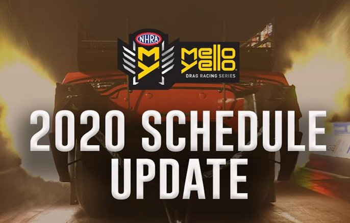 NHRA announces revised plan to restart 2020 Mello Yello Drag Racing Series