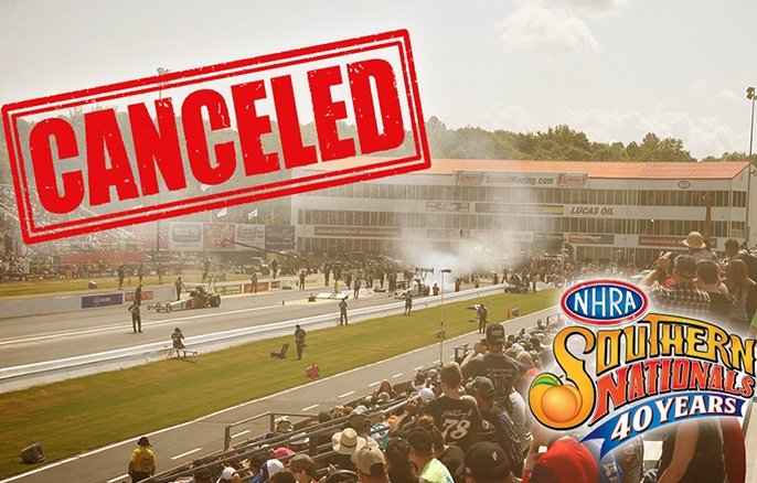 You are currently viewing NHRA Southern Nationals canceled due to COVID-19 concerns